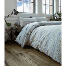 Racing Green Andover Silver Bedding Set - Superking Best Price, Cheapest Prices