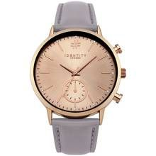 Identity London Rose Large Dial Mink Strap Watch Best Price, Cheapest Prices