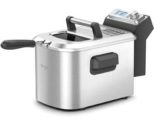 Sage The Smart Fryer BDF500UK Fryer - Brushed Steel Best Price, Cheapest Prices