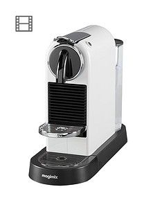 Nespresso CitiZ Coffee Machine by Magimix - White Best Price, Cheapest Prices