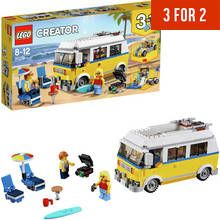 LEGO CREATOR Sunshine Surfer Van Construction Toy - 31079 Best Price, Cheapest Prices