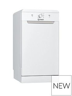 Indesit DSFE1B10 10-Place Slimline Dishwasher - White Best Price, Cheapest Prices