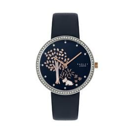 Radley London Blue Leather Strap Watch Best Price, Cheapest Prices