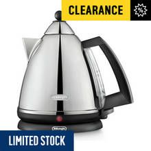 De'Longhi Argento Pyramid Kettle - Stainless Steel Best Price, Cheapest Prices