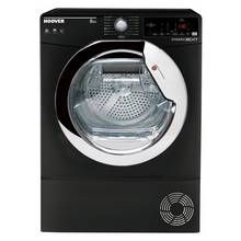 Hoover DXC 8TCEB 8KG Condenser Tumble Dryer - Black Best Price, Cheapest Prices