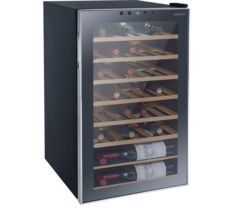 HUSKY Reflections HUS-HN12 Wine Cooler - Black Best Price, Cheapest Prices