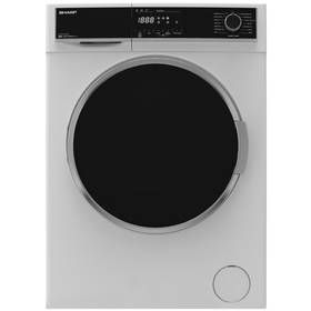 Sharp ES-HFH9148W3 9KG 1400 Spin Washing Machine - White Best Price, Cheapest Prices