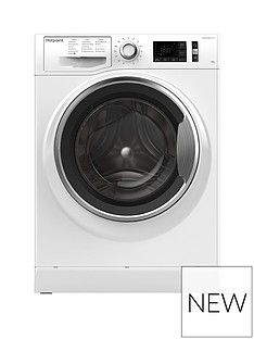 Hotpoint Active Care NM111045WCA 10kg Load, 1400 Spin Washing Machine - White Best Price, Cheapest Prices
