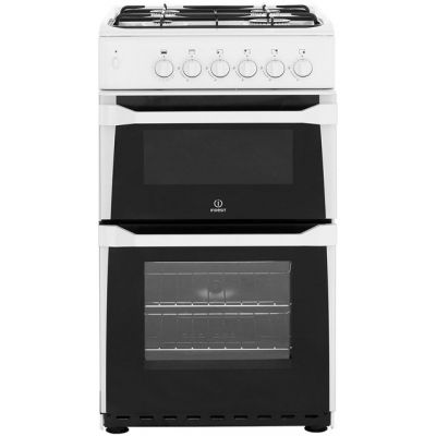 Indesit Advance IT50GW Gas Cooker - White Best Price, Cheapest Prices