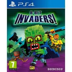 8-Bit Invaders PS4 Game Best Price, Cheapest Prices