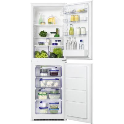 Zanussi ZBB27450SV Integrated 50/50 Fridge Freezer with Sliding Door Fixing Kit - White - A+ Rated Best Price, Cheapest Prices
