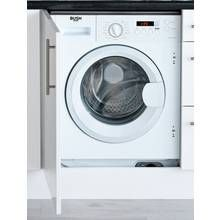Bush WMNSINT714W 7KG integrated Washing Machine - White Best Price, Cheapest Prices