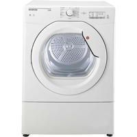 Hoover HLV10LG Link With One Touch 10kg Freestanding Vented Sensor Tumble Dryer - White With Glass Door Best Price, Cheapest Prices