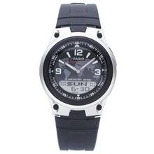 Casio Men's World Time Black Resin Strap Watch Best Price, Cheapest Prices