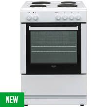 Bush DHBES60W Electric Cooker - White Best Price, Cheapest Prices