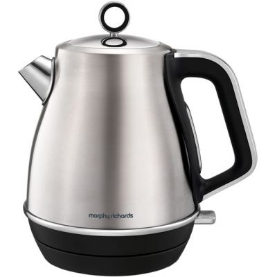 Morphy Richards Evoke 104406 Kettle - Brushed Steel Best Price, Cheapest Prices