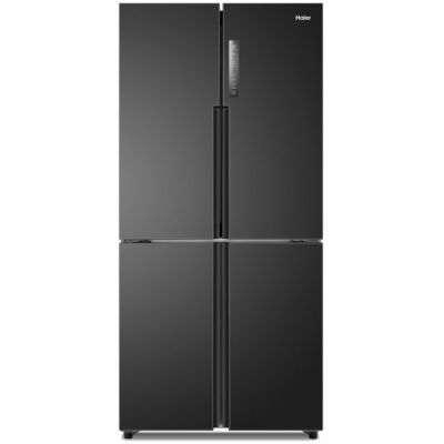 Haier HTF-456DN6 American Fridge Freezer - Black - A+ Rated Best Price, Cheapest Prices