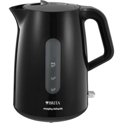 Morphy Richards Brita Filter 120009 Kettle - Black Best Price, Cheapest Prices