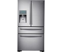 SAMSUNG RF24FSEDBSR/EU American-Style Fridge Freezer - Real Stainless Best Price, Cheapest Prices