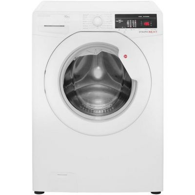 Hoover Dynamic Next DLOA4103 10Kg Washing Machine with 1400 rpm - White - A+++ Rated Best Price, Cheapest Prices