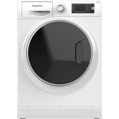 Hotpoint ActiveCare NLLCD947WDADWUK Wifi Connected 9Kg Washing Machine with 1400 rpm - White - A+++ Rated Best Price, Cheapest Prices