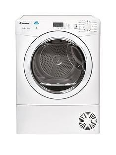 Candy CSVC8LG 8kg Load Condenser Sensor Tumble Dryer with Smart Touch - White Best Price, Cheapest Prices