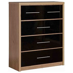 Seville 2 Over 3 Drawer Chest Best Price, Cheapest Prices