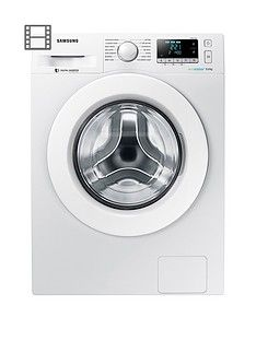 Samsung Ww90J5456Mw/Eu 9Kg Load, 1400 Spin Washing Machine With Ecobubble&Trade; Technology - White Best Price, Cheapest Prices