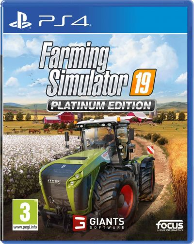 Farming Simulator 19 Platinum Edition PS4 Pre-Order Game Best Price, Cheapest Prices