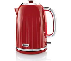 BREVILLE Impressions VKT006 Jug Kettle - Venetian Red Best Price, Cheapest Prices