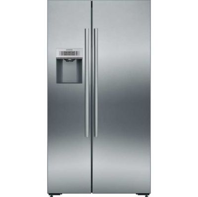 Siemens IQ-500 KA92DAI20G Wifi Connected American Fridge Freezer - Stainless Steel - A+ Rated Best Price, Cheapest Prices