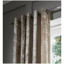 Catherine Lansfield Velvet Band Curtains