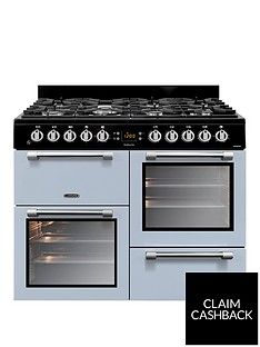 Leisure CK100F232B 100cm Dual Fuel Cooker - Blue Best Price, Cheapest Prices