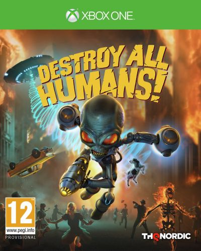 Destroy All Humans Remake Xbox One Pre-Order Game Best Price, Cheapest Prices