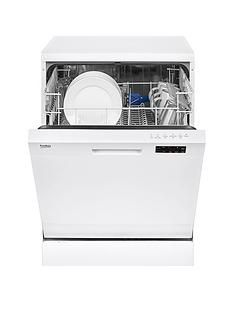 Beko DFN16210W 12-Place Dishwasher with Basket Flexibility - White Best Price, Cheapest Prices
