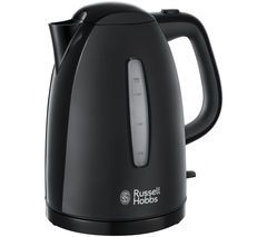 RUSSELL HOBBS Textures 21271 Jug Kettle - Black Best Price, Cheapest Prices