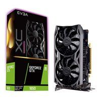 EVGA GeForce GTX 1650 XC ULTRA GAMING 4GB GDDR5 Graphics Card, 896 Core, 1485MHz GPU, 1875MHz Boost Best Price, Cheapest Prices