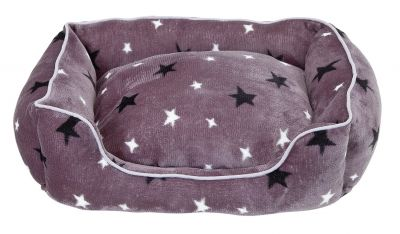 Stars Plush Square Bed - Small Best Price, Cheapest Prices