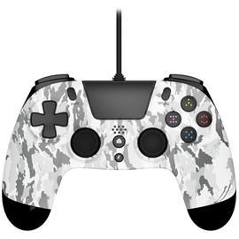 Gioteck VX4 PS4 Controller - White Camo Best Price, Cheapest Prices