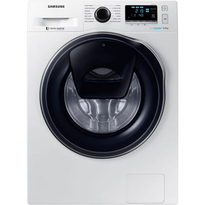 Samsung AddWash™ ecobubble™ WW90K6414QW 9Kg Washing Machine with 1400 rpm - White - A+++ Rated Best Price, Cheapest Prices