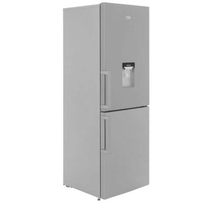 Beko CFP1675DX 60/40 Frost Free Fridge Freezer - Stainless Steel - A+ Rated Best Price, Cheapest Prices