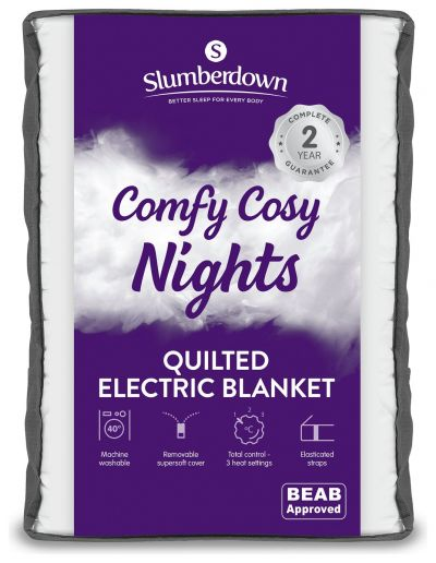 Slumberdown Warm and cosy Electric Underblanket - King Best Price, Cheapest Prices