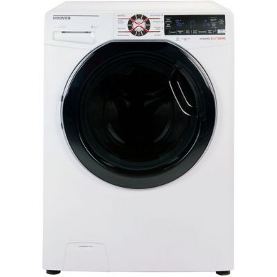 Hoover Dynamic Extreme DWFT410AH3 Wifi Connected 10Kg Washing Machine with 1400 rpm - White - A+++ Rated Best Price, Cheapest Prices