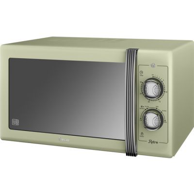 Swan Retro SM22070GN 25 Litre Microwave - Green Best Price, Cheapest Prices