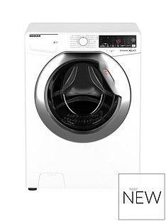 Hoover Dwoa412Ahc8/1-80 12Kg Load, 1400 Rpm, Wifi Washing Machine - White With Chrome Door Best Price, Cheapest Prices