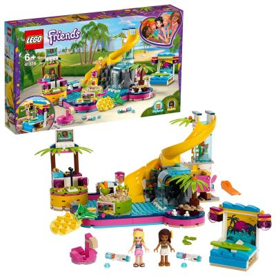 LEGO Friends Andreas Pool Party - 41374 Best Price, Cheapest Prices