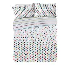 Argos Home Confetti Jersey Bed in a Bag - Double Best Price, Cheapest Prices