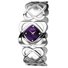 Seksy Ladies' Purple Dial Crystal Set Hidden Hearts Watch Best Price, Cheapest Prices