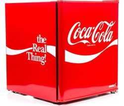 HUSKY Coca-Cola HUS-HU252 Mini Fridge - Red Best Price, Cheapest Prices