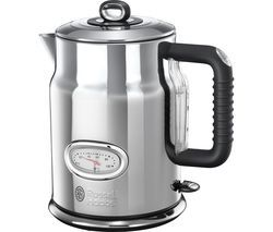 RUSSELL HOBBS Retro 21675 Jug Kettle - Silver Best Price, Cheapest Prices